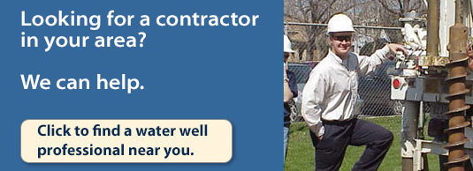 Click to find a water well professional near you.